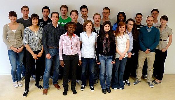 Die Mitglieder der Projektgruppe im Juni 2012